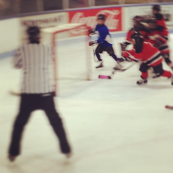 Photo taken at Charles Moore Arena by Peter M. on 2/16/2013