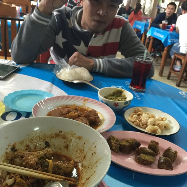 Photo taken at Kao Soi Lamduan Fa Ham by ละเมียด ส. on 1/18/2016