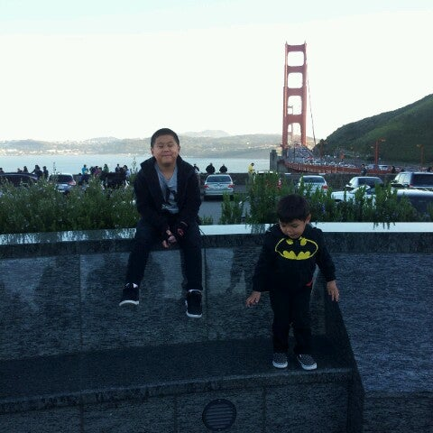 Photo taken at Vista Point by Carlito S. on 3/10/2013