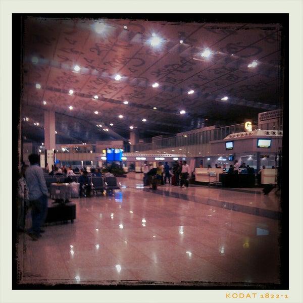 Photo taken at Netaji Subhash Chandra Bose International Airport (CCU) by Babak F. on 4/16/2013