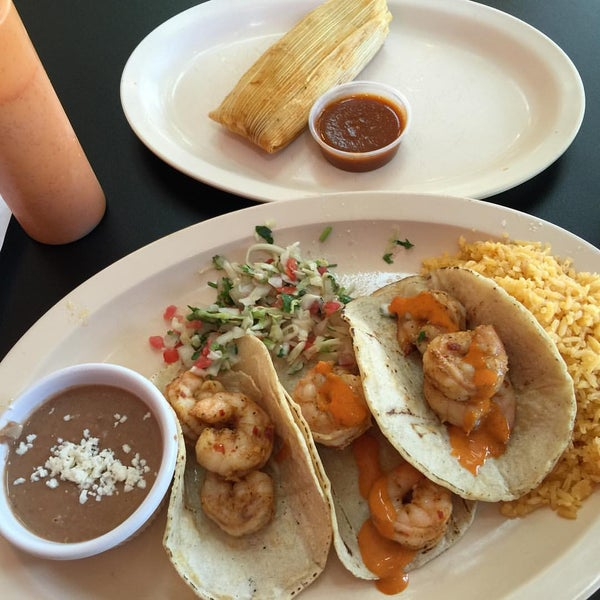 Photo taken at Tia Cori's Tacos by Andy L. on 10/12/2015
