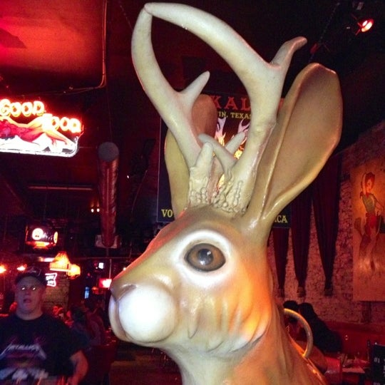 Photo taken at The Jackalope by Shana C. on 11/30/2012
