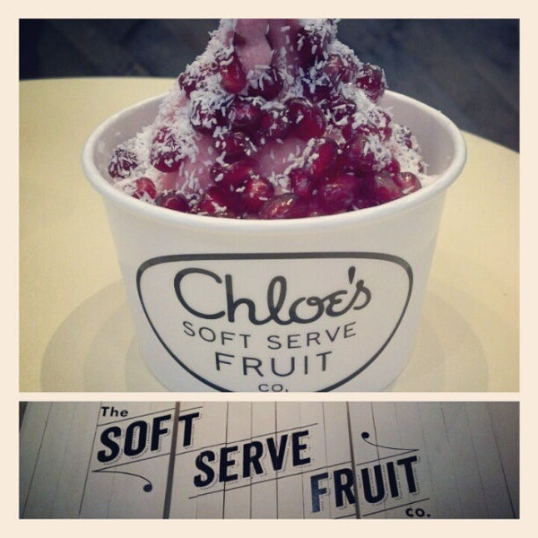 Photo taken at Chloe's Soft Serve Fruit Co. by Dirk M. on 2/24/2013