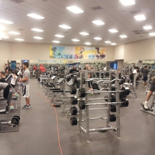 Photo taken at LA Fitness by Daniel J. on 1/15/2013