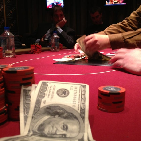 Photo taken at Aria Poker Room by Nora R. on 1/4/2013