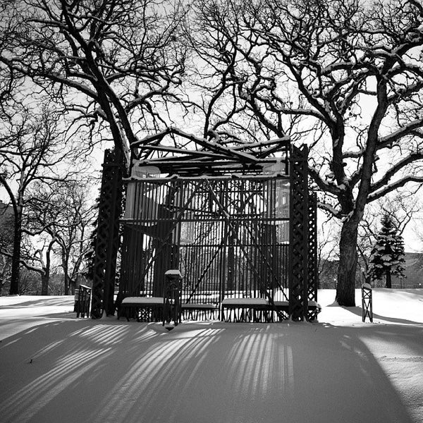 Photo taken at Loring Park by Tim L. on 12/9/2013