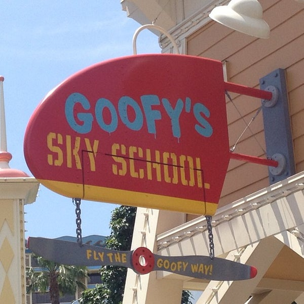 Photo taken at Goofy's Sky School by Shane B. on 5/9/2013