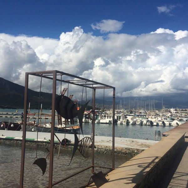 Photo taken at El Port de la Selva by Ana M. on 10/14/2016