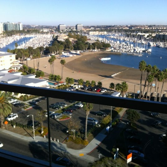 Photo taken at Marriott Marina Del Rey by Angie E. on 10/27/2012