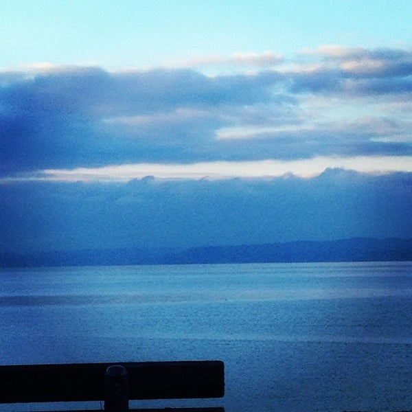 Photo taken at Carkeek Park by Aaron R. on 12/30/2012