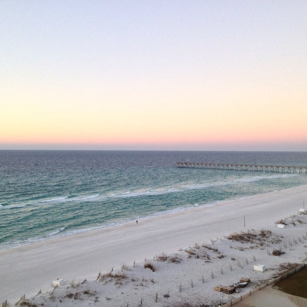 Photo taken at Hilton Pensacola Beach Gulf Front by Anthony A. on 12/19/2013
