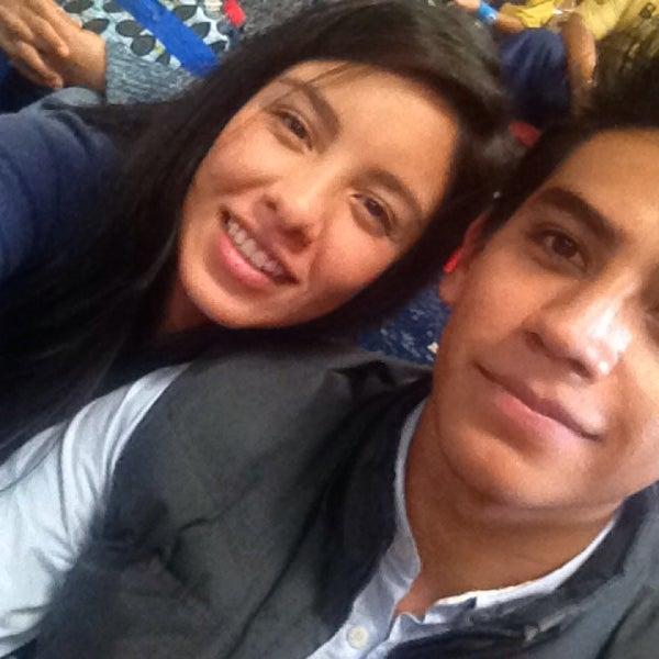 Photo taken at Arena Adolfo Lopez Mateos by fer M. on 8/24/2014