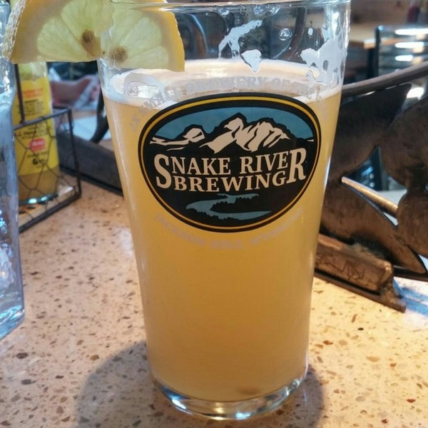 Photo taken at Snake River Brewery & Restaurant by Nathan M. on 8/20/2016