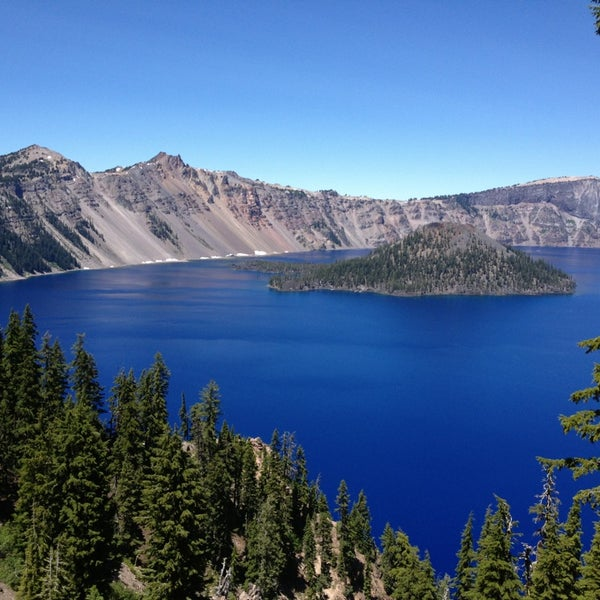 Photo taken at Crater Lake National Park by Amrit K. on 7/5/2013