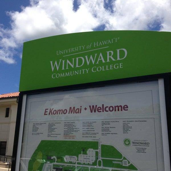 Photo taken at Windward Community College by Burt L. on 8/19/2013