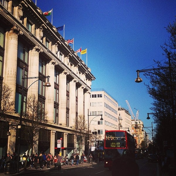 Photo taken at Oxford Street by Bruno M. on 3/9/2014