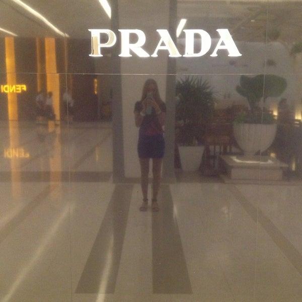 Photo taken at Prada by Ира Г. on 1/11/2013