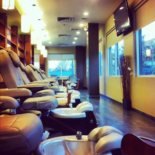 Photo taken at Ladue Nails & Spa by M#STL on 11/7/2012