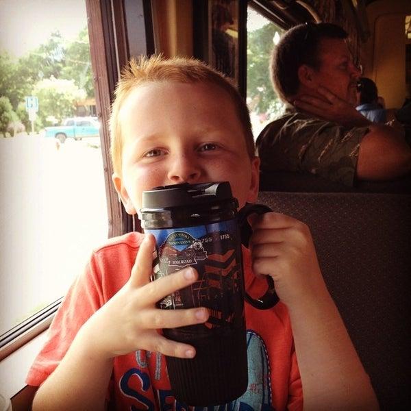 Photo taken at Great Smoky Mountain Railroad by Jim E. on 7/1/2014