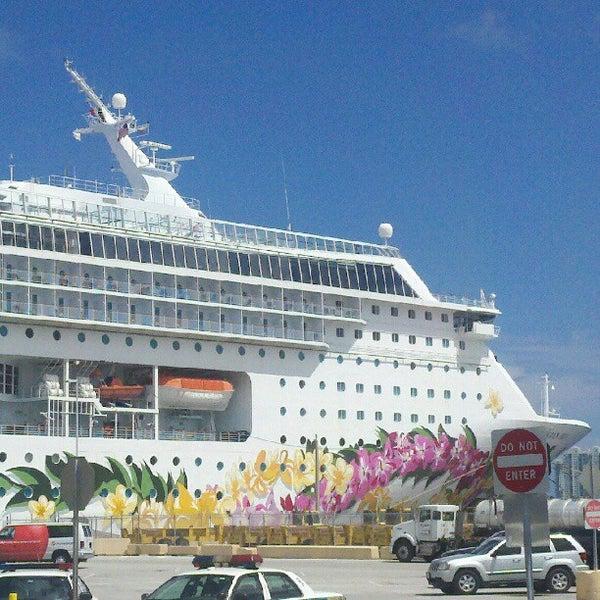 Miami Port: Port Of Miami