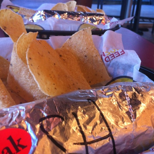 Photo taken at Moe's Southwest Grill by Denise J. on 11/25/2012