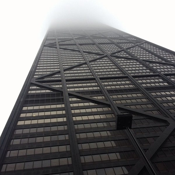 Photo taken at John Hancock Center by Blunt R. on 12/4/2013