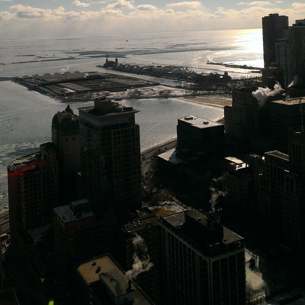 Photo taken at John Hancock Center by Blunt R. on 2/27/2014