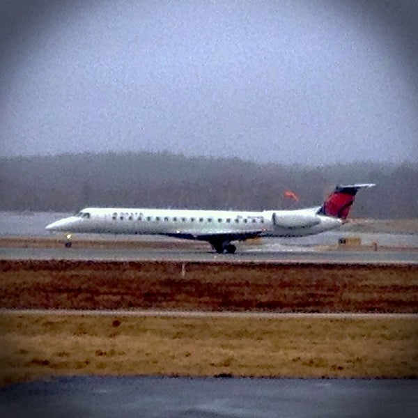 Photo taken at Portland International Jetport (PWM) by Brent D. on 4/5/2014