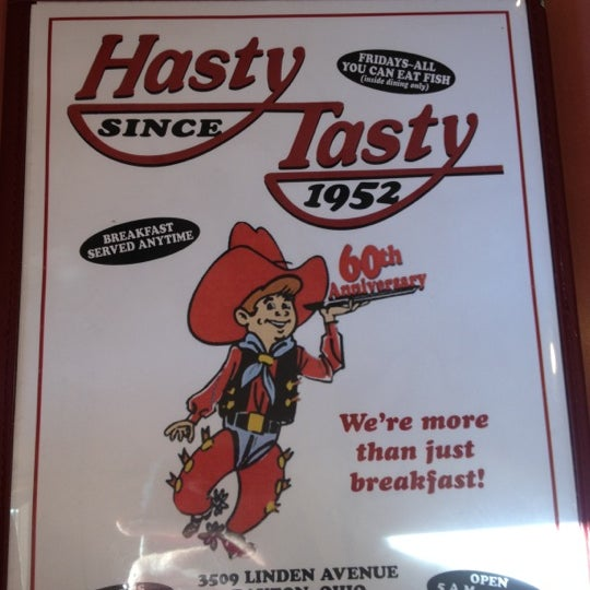 Photo taken at Bunnies Hasty Tasty Pancake House by Holly B. on 11/9/2012
