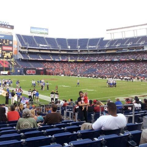 Photo taken at Qualcomm Stadium by Bobby on 9/23/2012