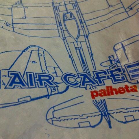 Photo taken at Air Café Palheta by Daniela C. on 10/27/2012