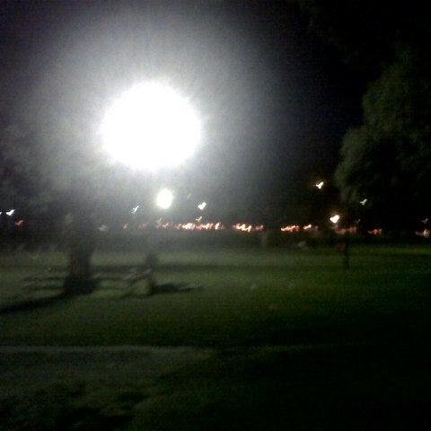 Photo taken at Plaza Francia by Juan Q. on 12/8/2012