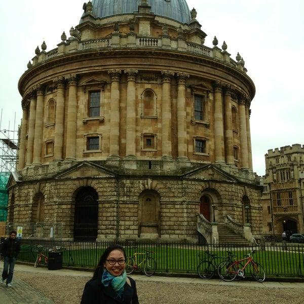 Photo taken at Radcliffe Camera by Johaira W. on 3/24/2013