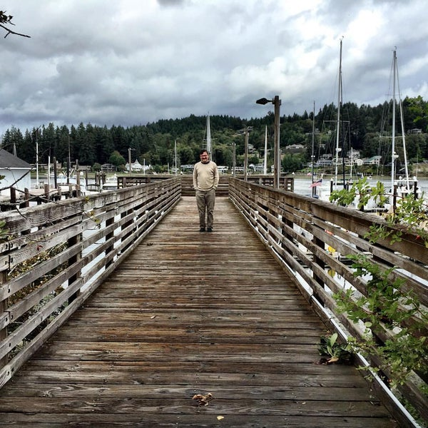Photo taken at Gig Harbor Waterfront by Johnni A. on 8/30/2015