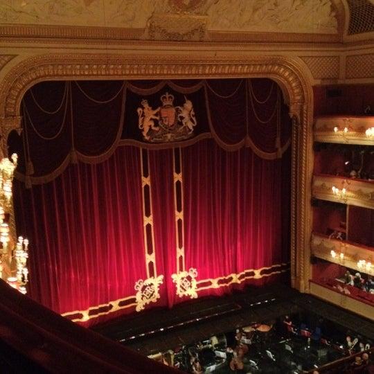 Photo taken at Royal Opera House by James G. on 12/11/2012