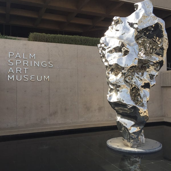 Photo taken at Palm Springs Art Museum by Kixhead H. on 3/2/2016