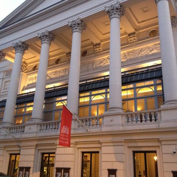 Photo taken at Royal Opera House by Bruna .. on 4/5/2013