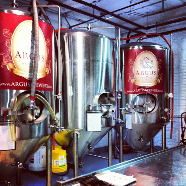 Photo taken at Argus Brewery by Amy L. on 2/3/2013