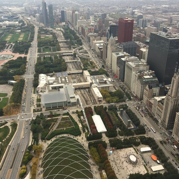 Photo taken at Aon Center by Anna M. on 10/15/2016