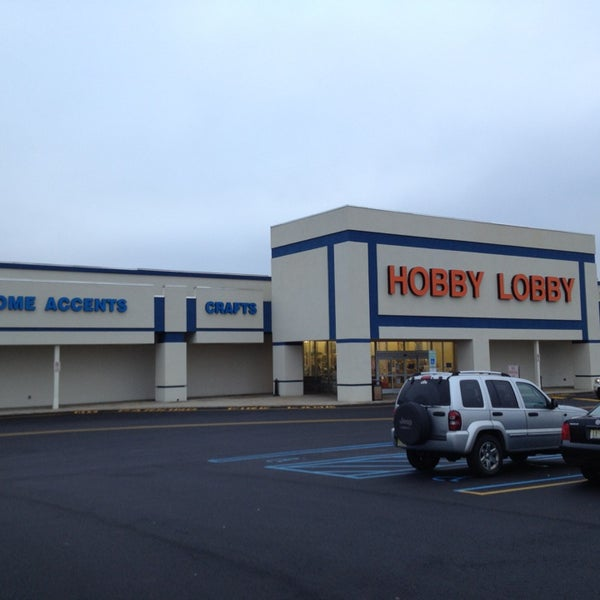 I'm obsessed with Hobby Lobby. It's like an AC Moore, Home Goods, shabby chic furniture store, and fabric shop all in one! I have bought so many things here that make my home more me. They 8/10(9).