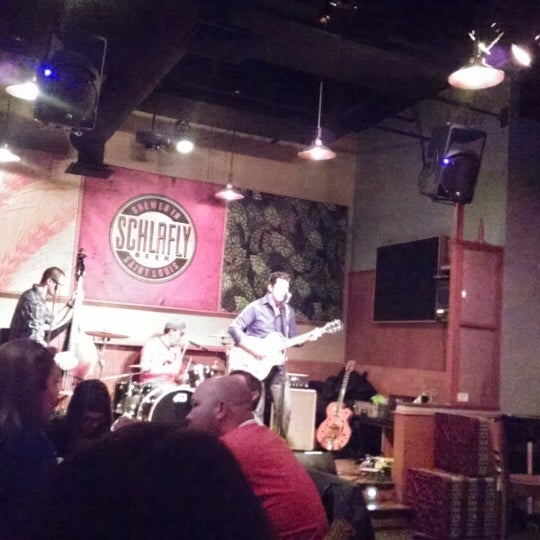 Photo taken at Schlafly Bottleworks by Irene A. on 3/29/2014