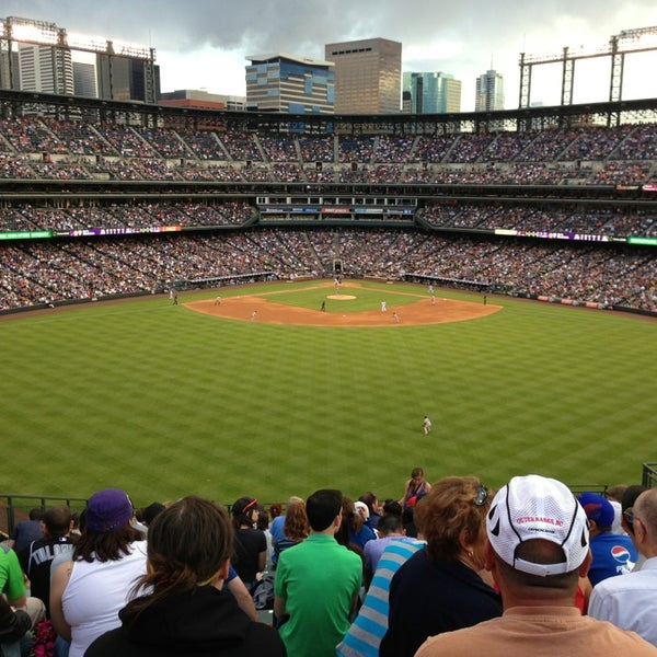 Photo taken at Coors Field by Rob F. on 5/19/2013