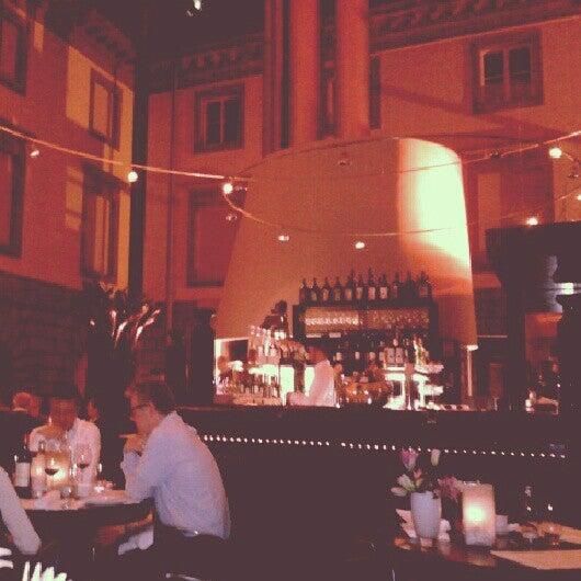Photo taken at Holbein's Café-Restaurant by Stephanie D. on 12/27/2012