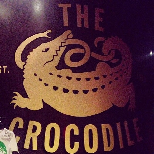 Photo taken at The Crocodile by Bernie G. on 5/17/2014
