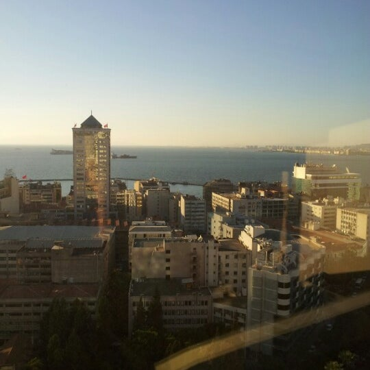 Photo taken at Hilton İzmir by Müge S. on 10/20/2012