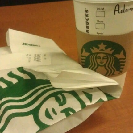 Photo taken at Starbucks by Adrienne W. on 3/16/2013