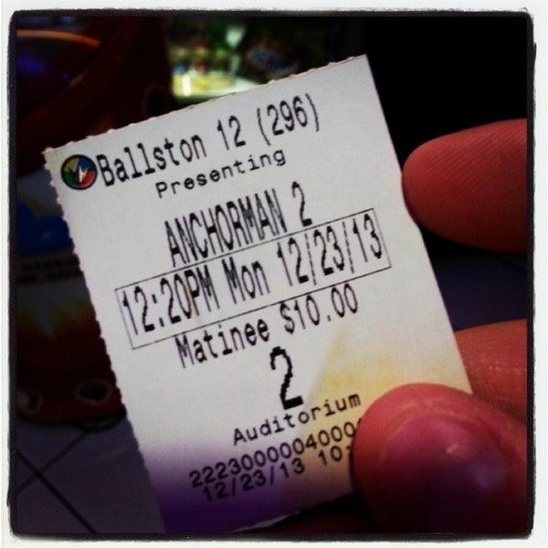 Ballston regal movie