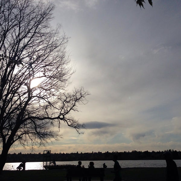 Photo taken at Green Lake Boathouse by Kerry M. on 3/31/2015