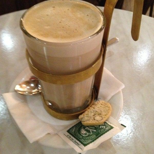 Photo taken at Dôme Café by Jeana L. on 3/15/2013