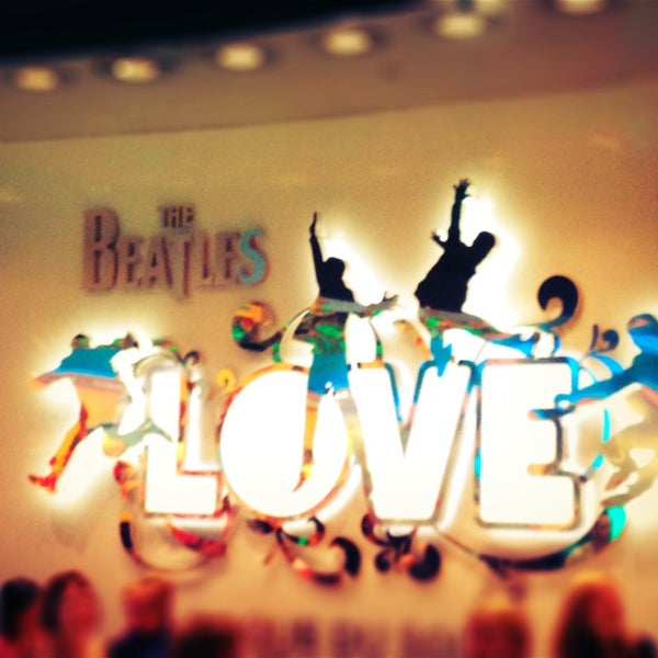 Photo taken at The Beatles LOVE (Cirque Du Soleil) by Di on 4/2/2013